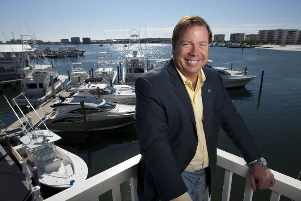 Matt Condon, Viking Yacht Sales specialist, Galati Yacht Sales, Destin, FL
