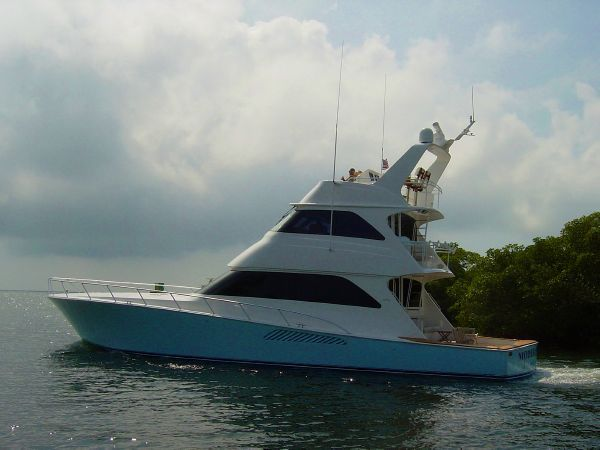 68' 2008 Viking EB Skybridge