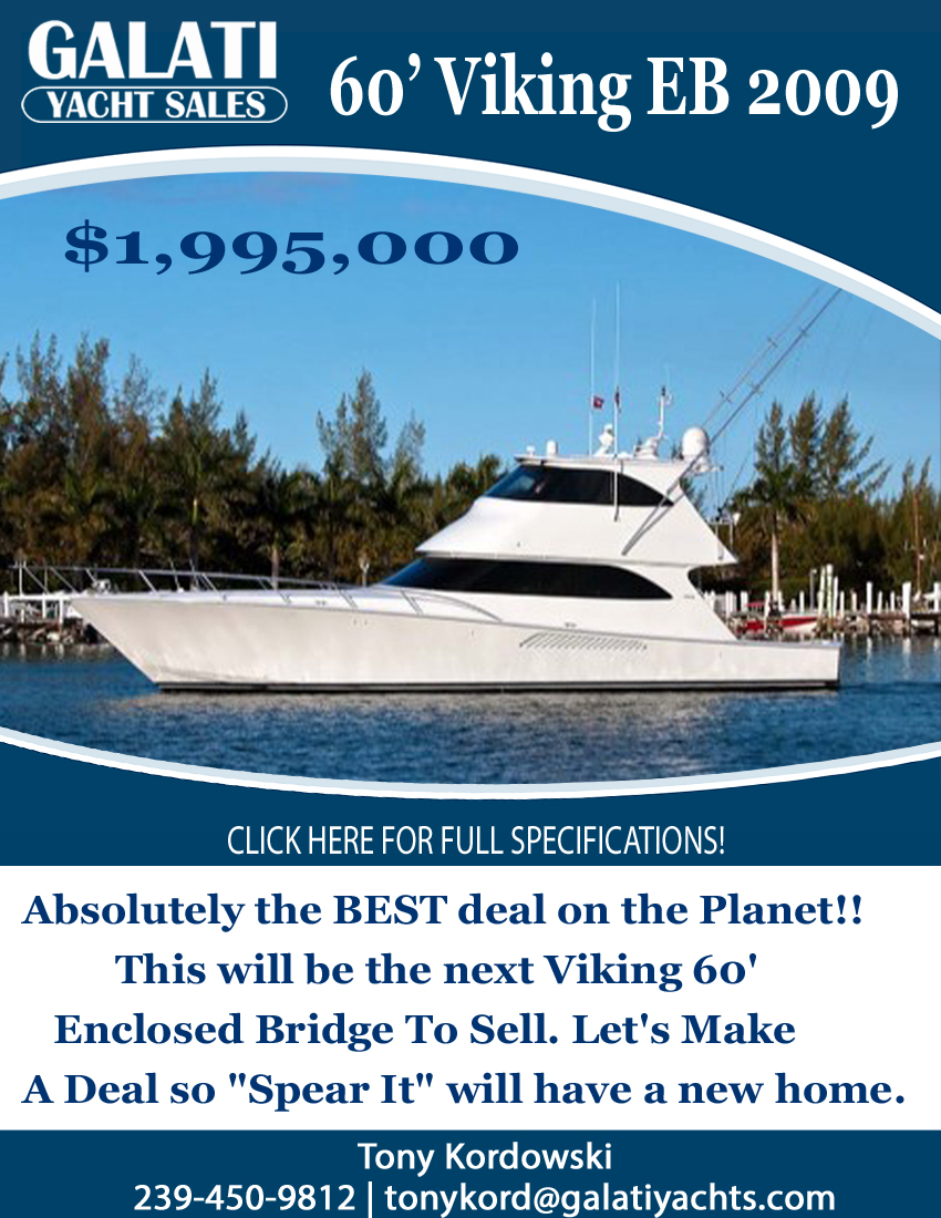 60' 2009 Viking EB Spear It