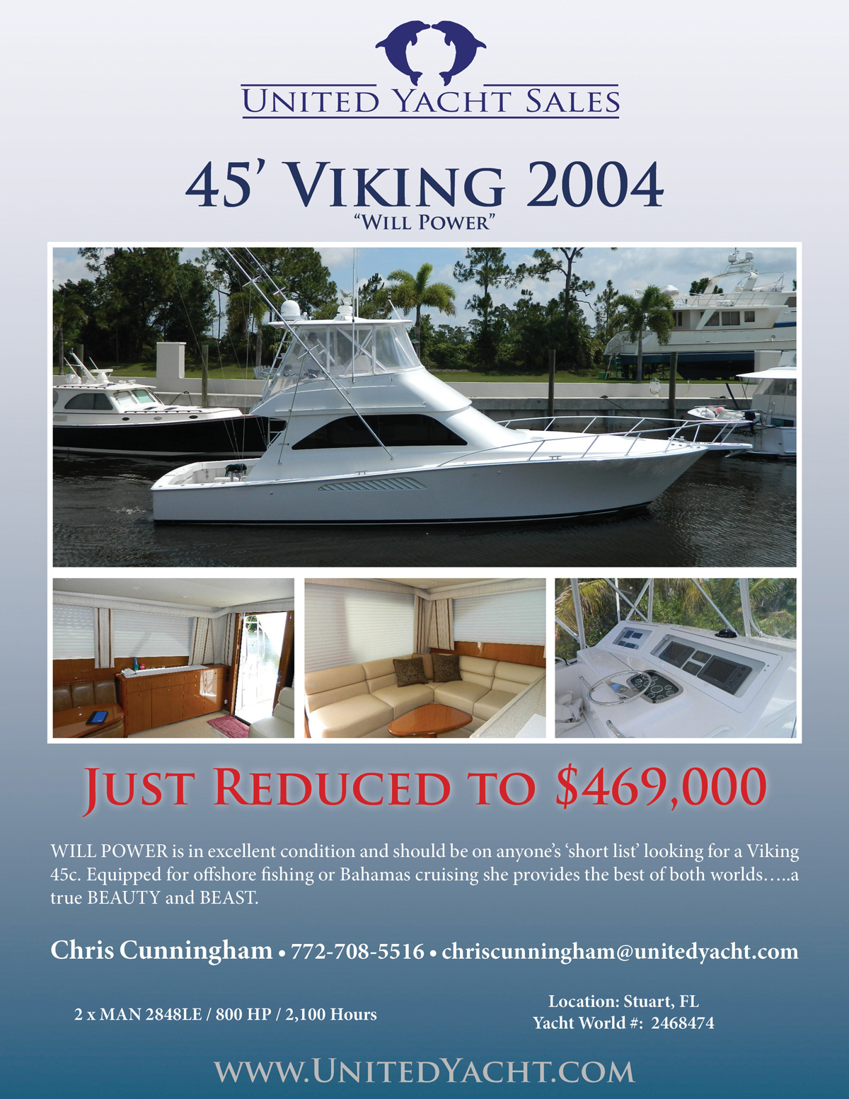 45 Viking Convertible HT Will Power